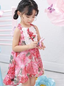 棣仔女童夏款连衣裙