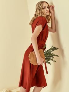 读衣拾年18新款纯色连衣裙