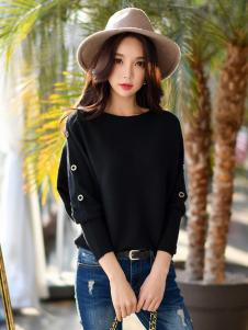 YOSUM18新款黑色上衣