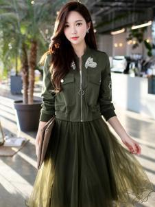 YOSUM18新款网纱裙