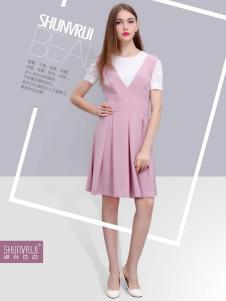 淑女日记粉色连衣裙