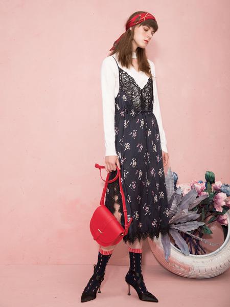 西蔻女装吊带裙两件套