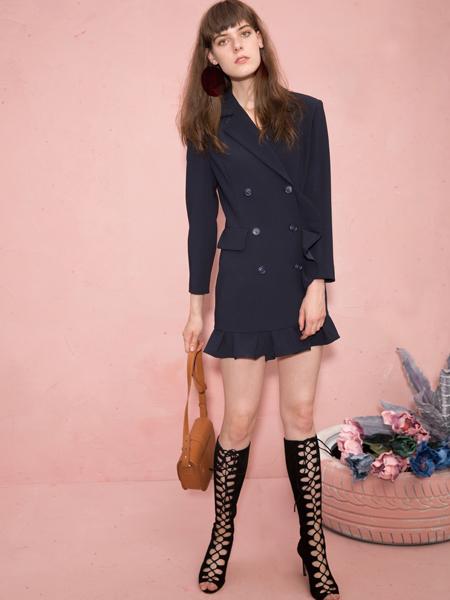 2018西蔻女装时尚西服套装