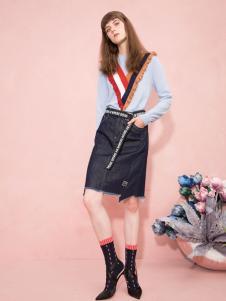 西蔻女装时尚套装18新款