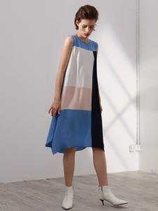 KENNY女装时尚拼接连衣裙