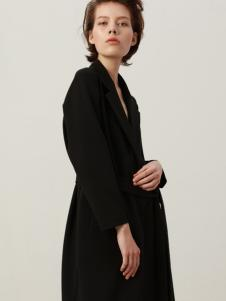 KENNY女装经典黑色套装18新款