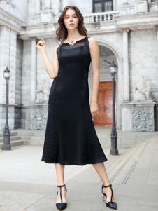迪奥女装小黑裙18新款