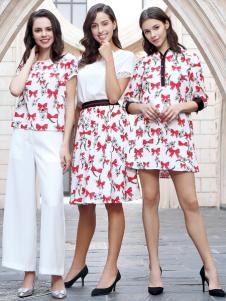 迪奥女装2018印花裙系列