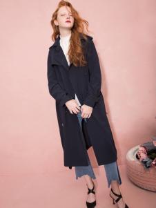 西蔻女装18经典风衣外套