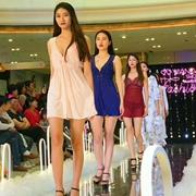 香港V21南沙万达店新品show 展示女性魅力