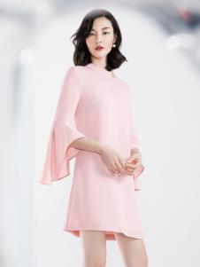 ECA女装名媛气质连衣裙18新款