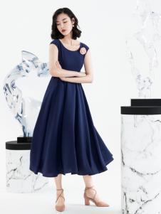 ECA女装优雅长裙18新款