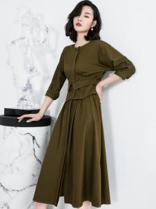 ECA女装优雅连衣裙18新款