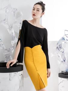 ECA女装设计师范套装18新款