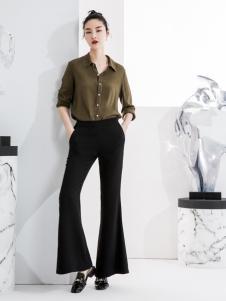 ECA女装阔腿裤18新款