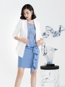 ECA女装2018短款西服外套