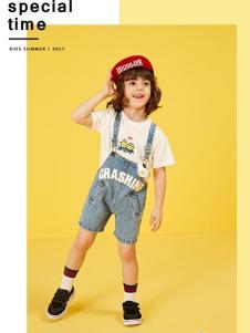 小太平鸟童装品牌新品休闲背带