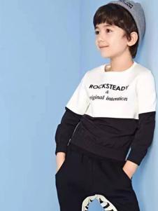 gxg童装新品黑白卫衣