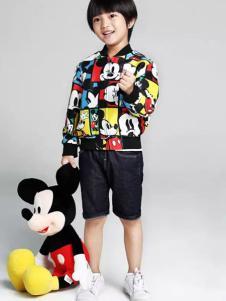 小太平鸟童装品牌新品个性夹克