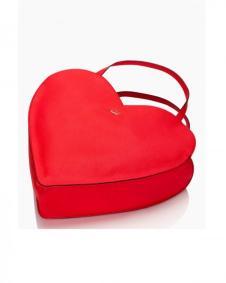 KateSpade心形手提包