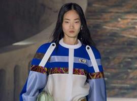 Louis Vuitton时装秀:令人坐立不安的反常