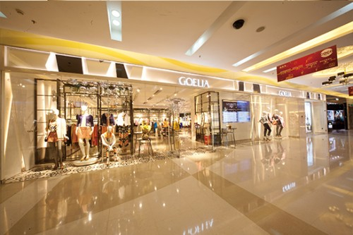 歌莉娅店铺展示图品牌旗舰店店面