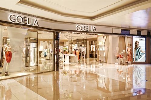 歌莉娅实体店铺展示图品牌旗舰店店面
