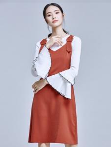麦光女装新款连衣裙