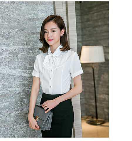 大气的女士职业衬衫想买女士职业衬衫就到一条龙服装