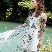 【楚阁】仙女裙可不只是夏天的专利