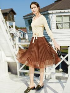 布根香女装半裙18新款