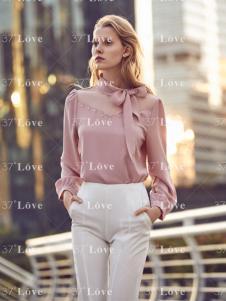 37度Love女装上衣18新款