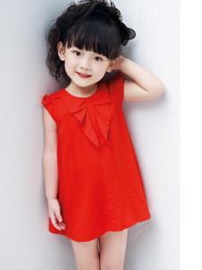 快乐丘比红色女裙