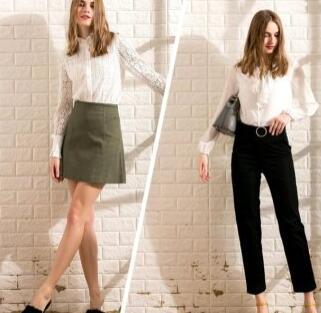 人手一件的白衬衫是衣橱里的必备品,穿上Saslax女装留下最美的样子