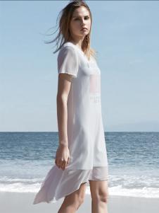 衣魅人白色连衣裙