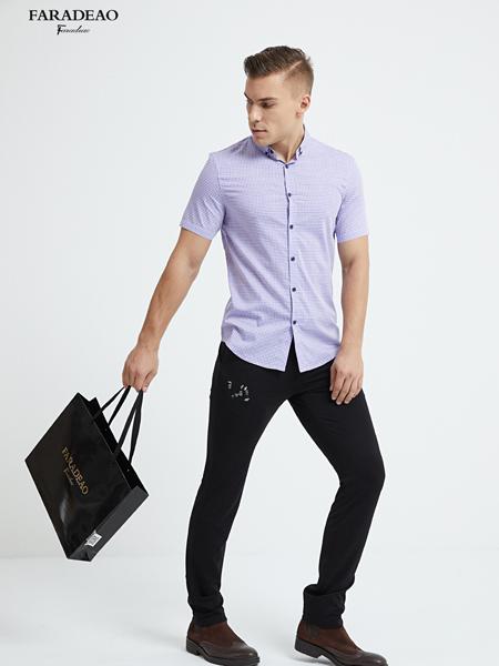 法拉狄奥短袖衬衫18新款