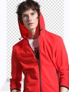 新升流派18新款红色外套