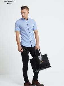 法拉狄奥18新款短袖衬衫