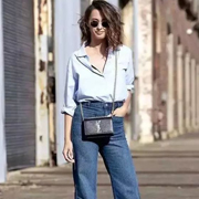艾米时尚资讯:衬衫+阔腿裤,暖春最in的穿法,你值得拥有~