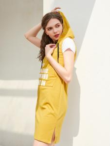 金蝶茜妮新款亮色裙装