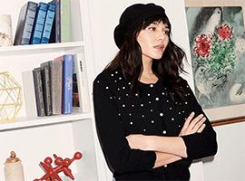 Karl Lagerfeld Paris首个系列是为高个女孩们设计的