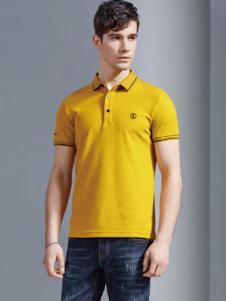 老爷车18黄色条纹polo衫