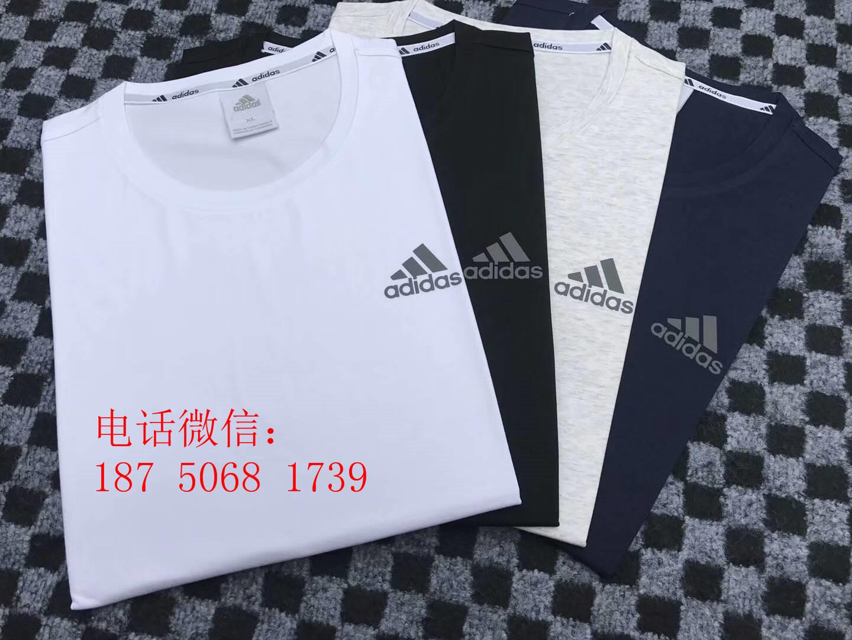 山东工厂直销运动品牌T恤短袖服装批发
