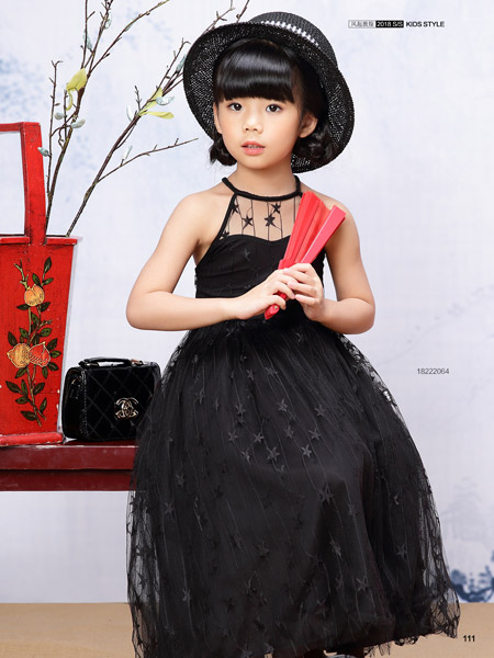 JOJO童装女童18个性连衣裙