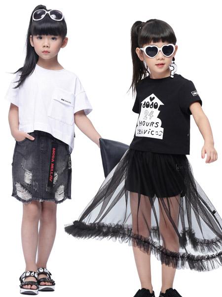 JOJO女童18新款套装
