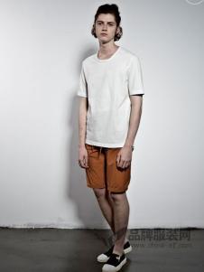 艺术小站男装2018春夏时尚简约短袖T恤