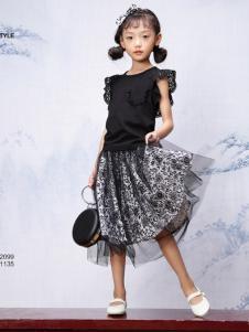 JOJO童装时尚套装裙18新款