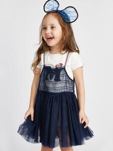 的纯童装时尚新品女童两件套