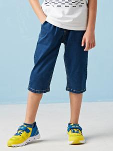的纯童装时尚新品南通中裤