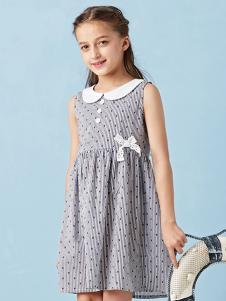 的纯童装时尚新品大童裙装